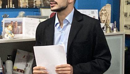 Jorge de Juan en un momento de la sesión formativa